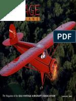 Vintage Airplane - Jan 2003