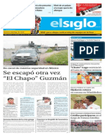 Edición Impresa Elsiglo 13-07-2015
