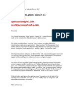 Global Diisopropyl Ether Industry Report 2015
