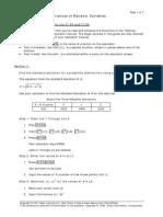 Statistics Study Guide - Variance