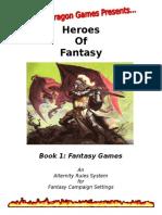 Fantasy Games Book1