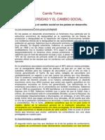 Torres, Camilo La Universidad y El Cambio Socialii