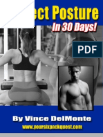 Perfect Posture In 30 Days