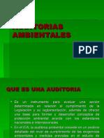 5 AUDITORIAS  AMBIENTALES