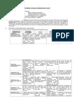 Informe Técnico Pedagógico -EBR
