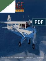 Vintage Airplane - Feb 2005