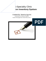 RX Inventory System
