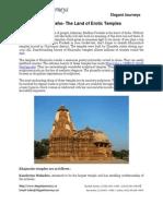Khajuraho  The Land of Erotic Temples