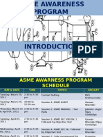 ASME Awareness Program