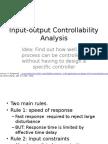 Input Output Controllability