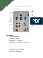 Manual de Operación de Equipo de Cristalización