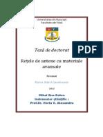 Retele de Antene Cu Materiale Avansate _ Mihai Ene-Dobre_rezumat