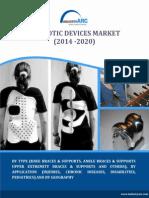 Orthotic Devices Market