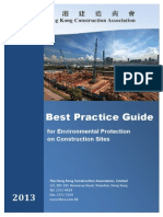 Best Practice Guide for Environmental Protection on Construction Sites