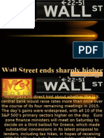 Wall Street ends sharply higher in broad rally