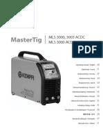 Mastertig MLS 3003 ACDC Operating Manual
