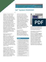 MAWS301 Datasheet B210396EN-C LowRes