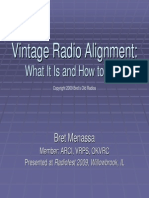 Vintage Radio Alignment