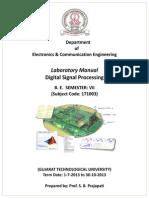 DSP Lab Manual GEC Dahod 1