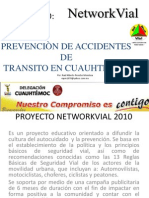 Networkvial en la Delegaci´´on Cuauhtemoc en el Distrito Federal, Mexico