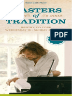Masters of Tradition 2015 Brochure