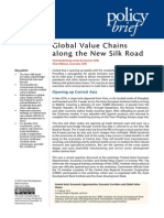 Global Value Chains along the New Silk Road