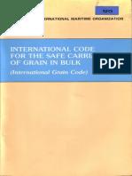 Code international pdf grain