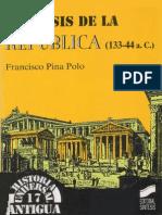 Francisco Pina Polo, La crisis de la República.pdf