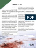 Economics of Canada's Commercial Seal Hunt