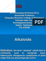 Alkaloids Introduction