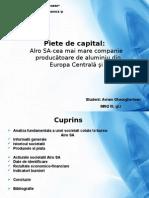 Analiza Fundamentala a Unei Societati Cotate La Bursa - Alro SA
