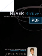 Never Give Up Workbook