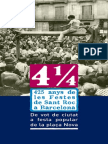 4 i 1/4 . 425 anys de les festes de Sant Roc a Barcelona