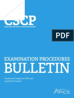 Cscp Exam Outside North America
