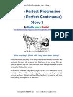 Future Perfect Progressive Story 1