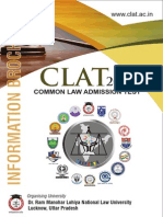 CLAT-2015 Information Brochure