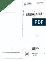 Criminalistica Ed Junimea 2001