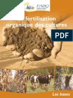 Brochure Fertilisation Organique