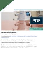 Microscopia Especular