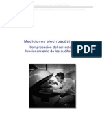 Mediciones Electroacusticas Para La Verificacion de Los Audifonos
