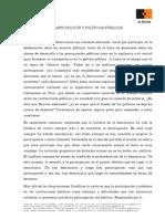 Participación y Políticas Públicas