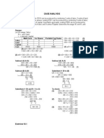 Algebra Case Analysis