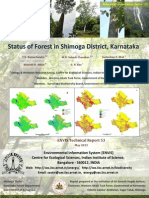 Status of Forest in Shimoga District, Karnataka