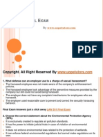 LAW 531 Final Exam Latest UOP Study Material