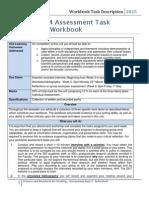 SEB104 Workbook Assessment Sheet Feb 2015