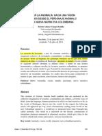 Anomalía Literatura Colombiana