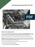 Electrical-Engineering-portal.com-Erection Procedures of Earthing Arrangements TNC TN-S TNC-S and TT