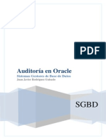 Auditoria en Oracle