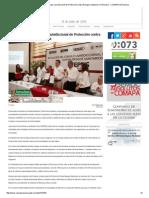 07-06-2015 Se Instala El Primer Consejo Jursidiccional de Protección Contra Riesgos Sanitarios en Reynosa