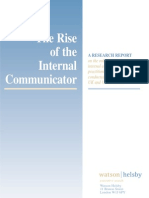 The Rise of the Internal Communicator (2002)